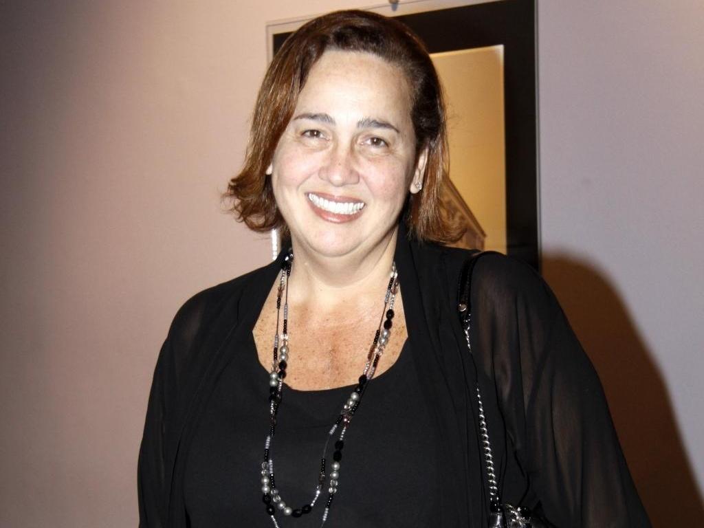 A atriz Cláudia Jimenez