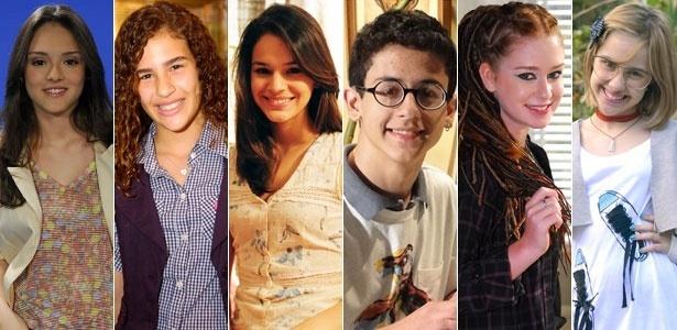 Isabelle Drummond, Lívian Aragão, Bruna Marquezine, David Lucas, Marina Ruy Barbosa e Clara Tiezzi