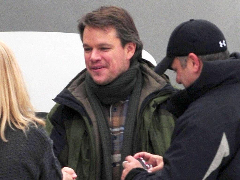 Matt Damon grava cenas do novo filme de Soderbergh em Illinois