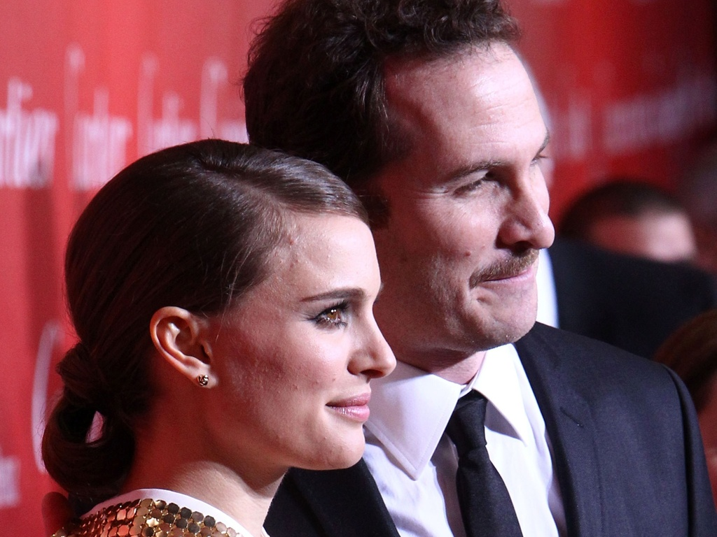 Natalie Portman e o diretor Darren Aronofsky vo ao Festival de Cinema de Palms Springs, Califrnia (08/01/2011)