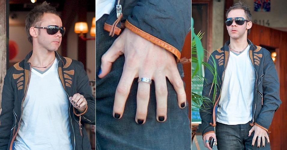 O ator Dominic Monaghan, de