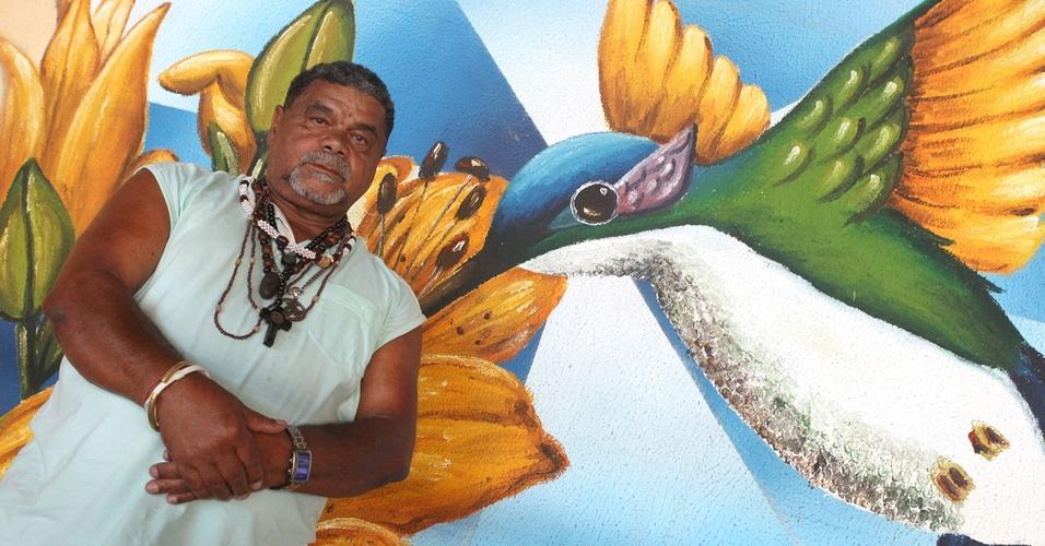 Laíla, diretor de harmonia da Beija-Flor (25/1/2011)