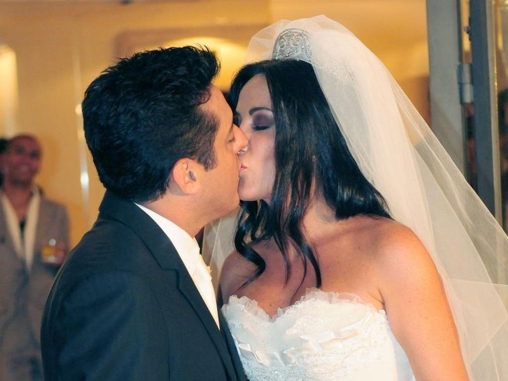 Bruno e Marianne casam-se no Terraço Daslu, em São Paulo (15/2/2011)