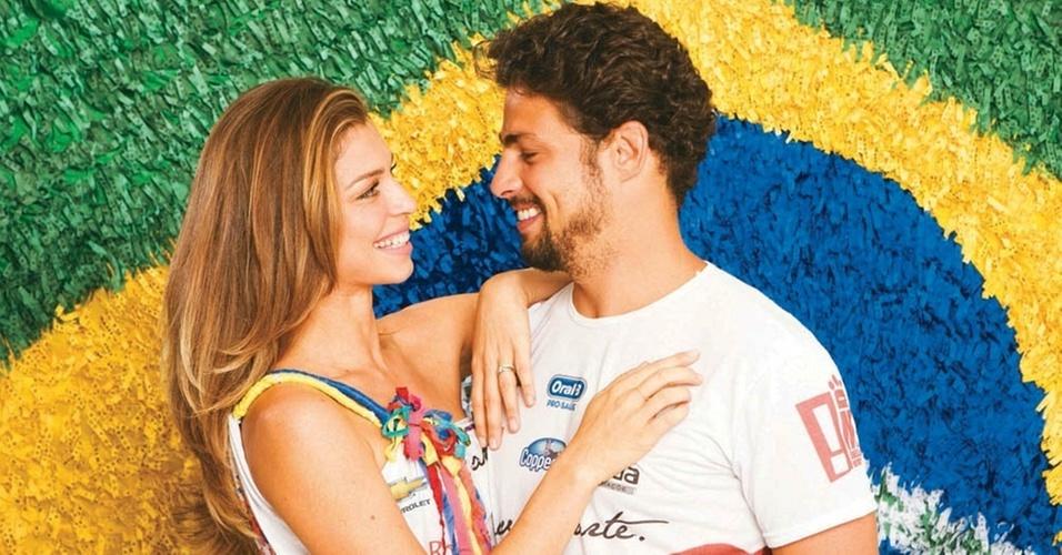 Grazi Massafera e Cauã Reymond em Salvador (março/2011)