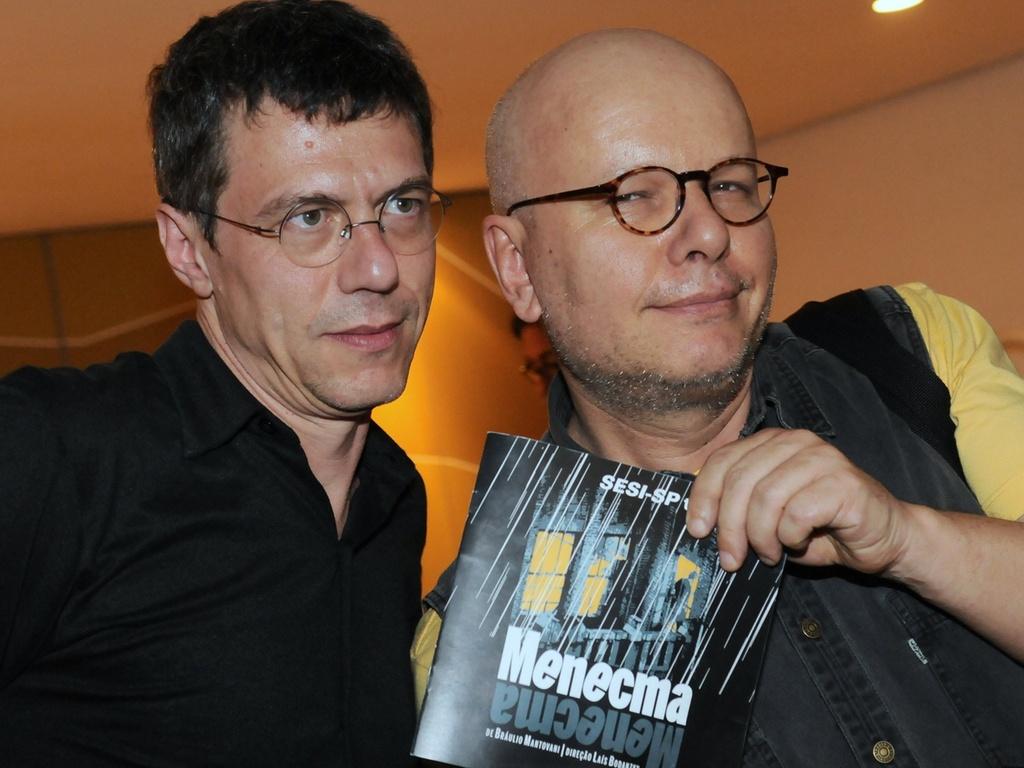 Marcelo Tas prestigia a estreia de