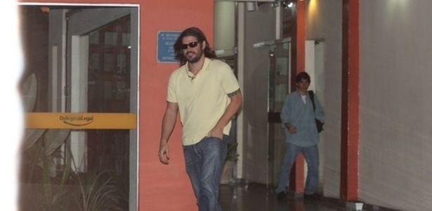 Dado Dolabella presta depoimento no Juizado Especial Criminal (Jecrim), no Leblon. O ator foi flagrado numa blitz, em setembro de 2010, com maconha dentro do carro (6/4/11)