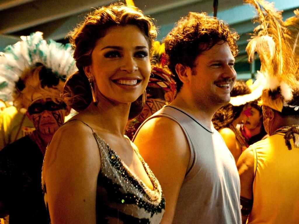 Grazi Massafera grava cenas do filme