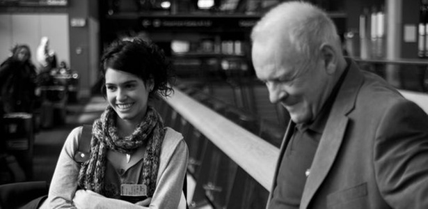 Maria Flor contracena com Anthony Hopkins em