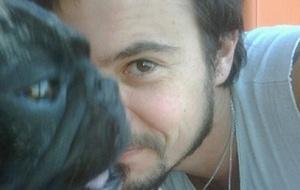 Paulinho Vilhena e seu cachorro Zacarias no Twitter (18/4/2011)