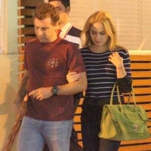 Luciano Huck e Angélica jantam em restaurante japonês no Rio (2/5/2011)