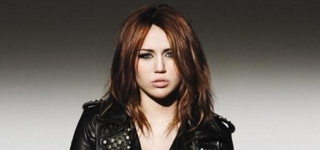 A cantora americana Miley Cyrus