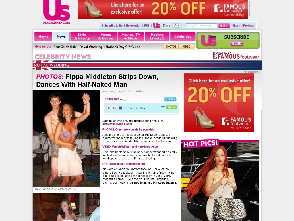 Site da revista