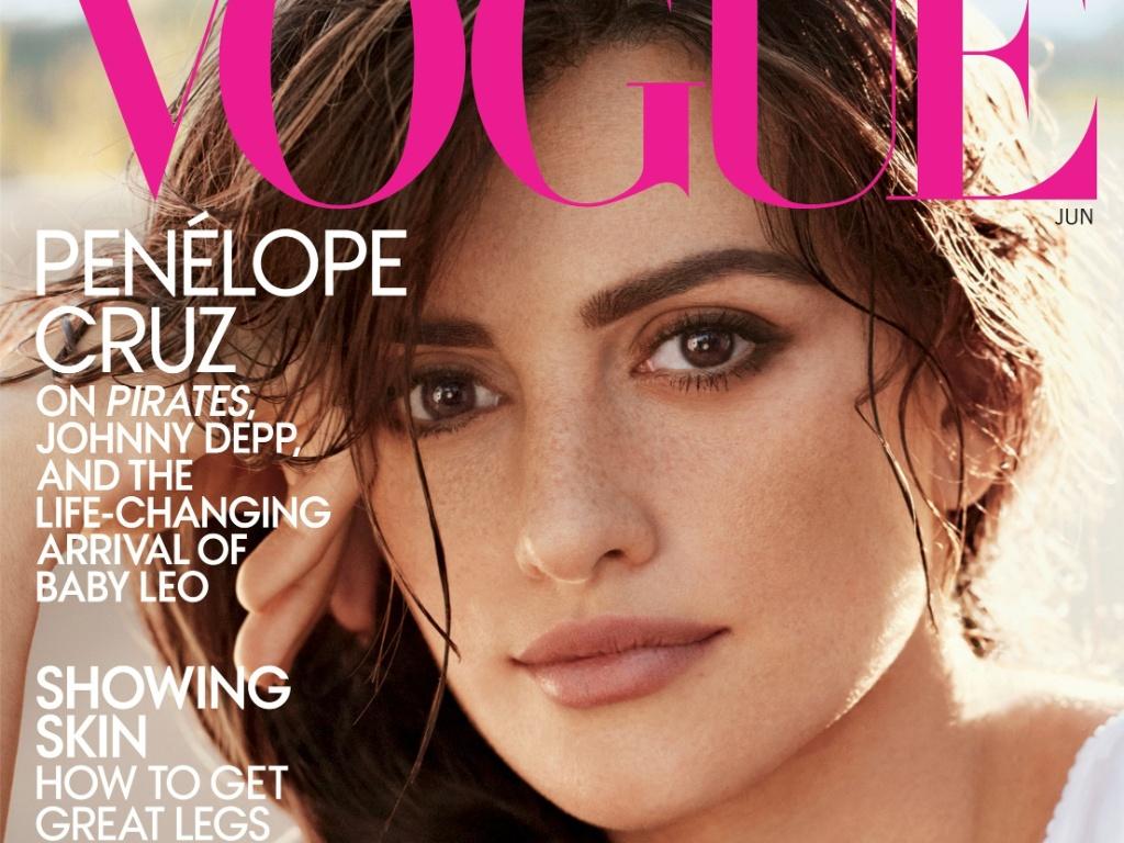 Penélope Cruz na capa da revista