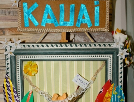 Daniele Suzuki posta foto no Twitter do quadro que pintou para o filho Kauai (18/5/11)