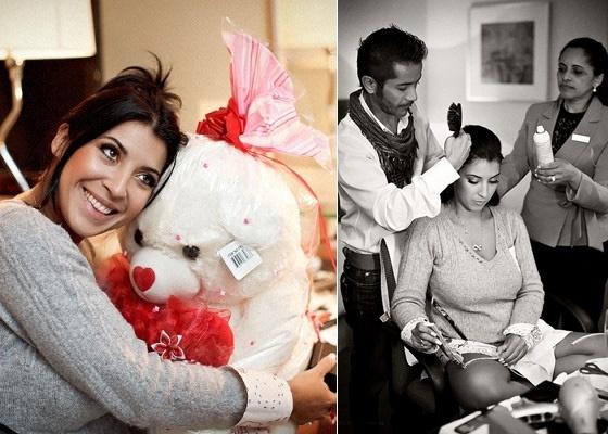 Ex-bbb Priscila posta no Twitter fotos dos preparativos de seu casamento (28/5/11)