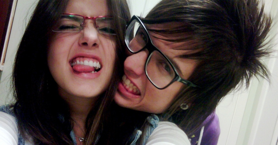 Giovanna Lancellotti e Pe Lanza posam para foto (12/6/2011)