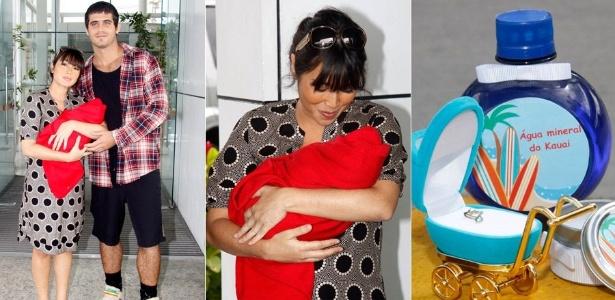 Após dar à luz, Daniele Suzuki deixa a maternidade carioca (15/6/2011)