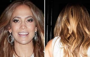 Com vestido justo, cantora Jennifer Lopez exibe boa forma aos 42 anos (14/6/11)