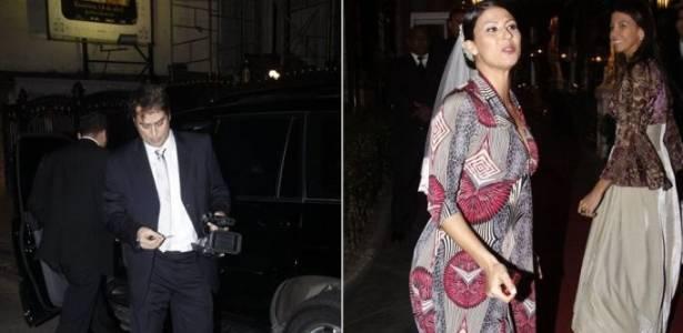 Marcello Antony e Carolina Hollinger se casam no Rio de Janeiro (25/6/11)