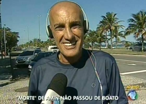 Amin Khader desmente notícia em entrevista ao vivo para o Record Notícias (28/6/2011)