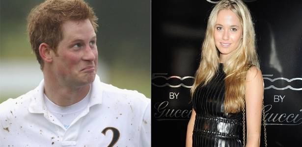 O príncipe Harry e a modelo Florence Brudenell-Bruce