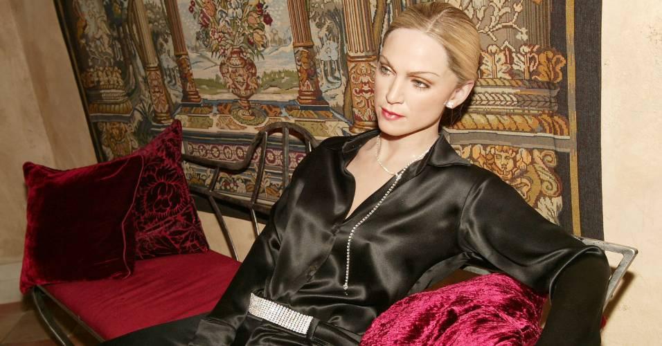 Figura de cera da cantora Madonna no museu Madame Tussauds de Nova York (2/12/2003)