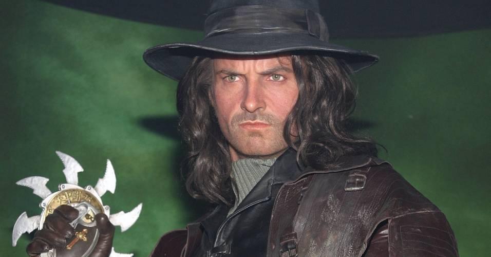 Figura de cera do ator Hugh Jackman como Van Helsing no museu Madame Tussauds de Nova York (6/5/2004)