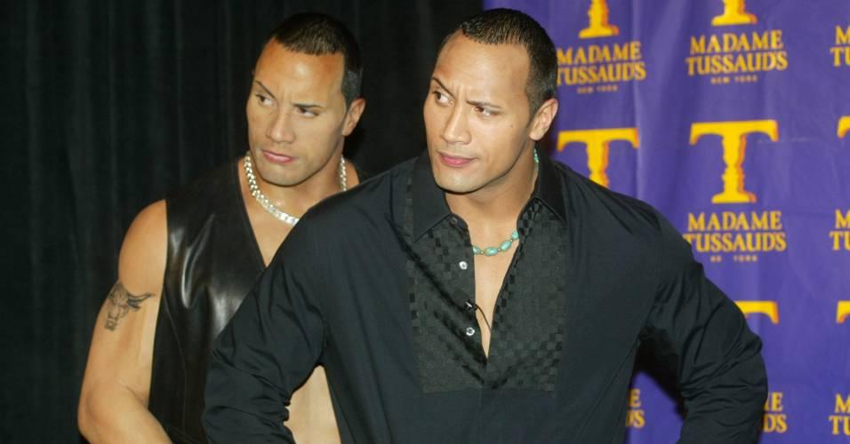 O ator e lutador Dwayne