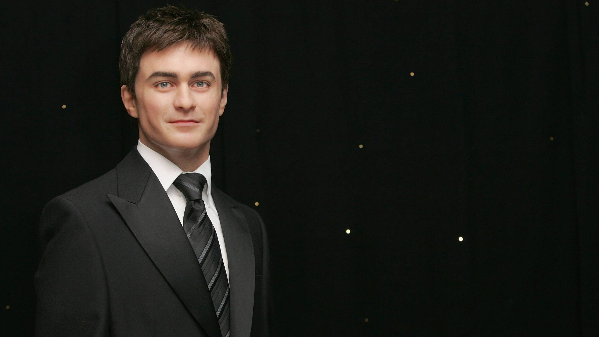 Figura de cera do ator Daniel Radcliffe no museu Madame Tussauds de Londres (2/7/2007)