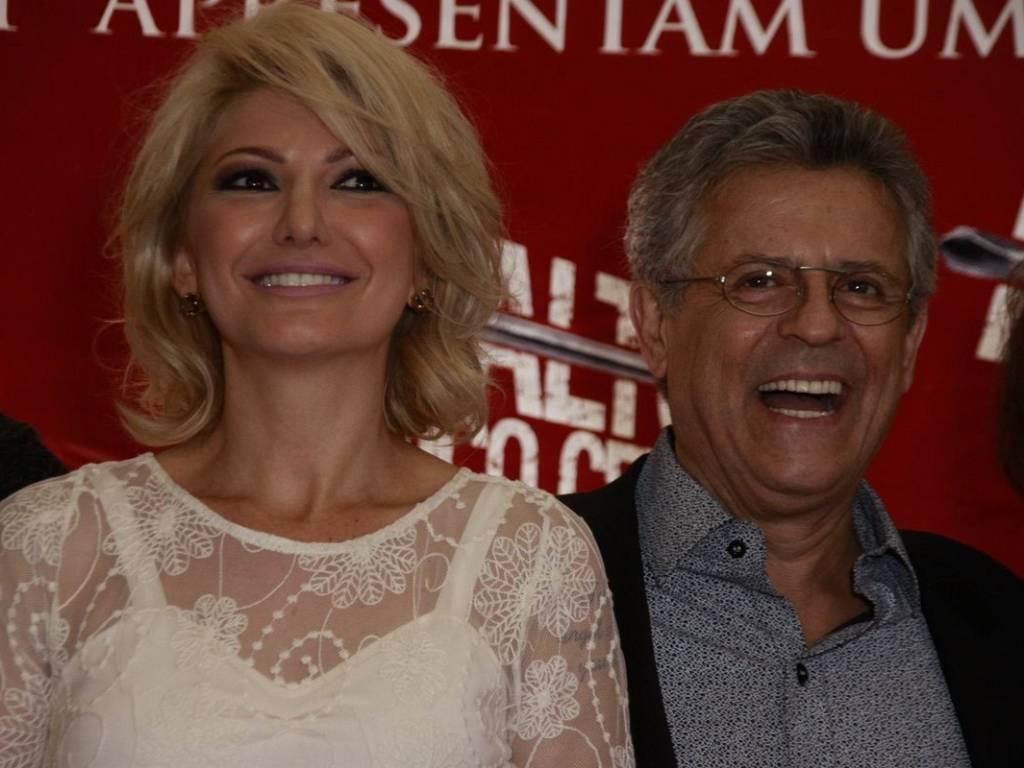 Antonia Fontenelle e Marcos Paulo na pré-estreia do filme