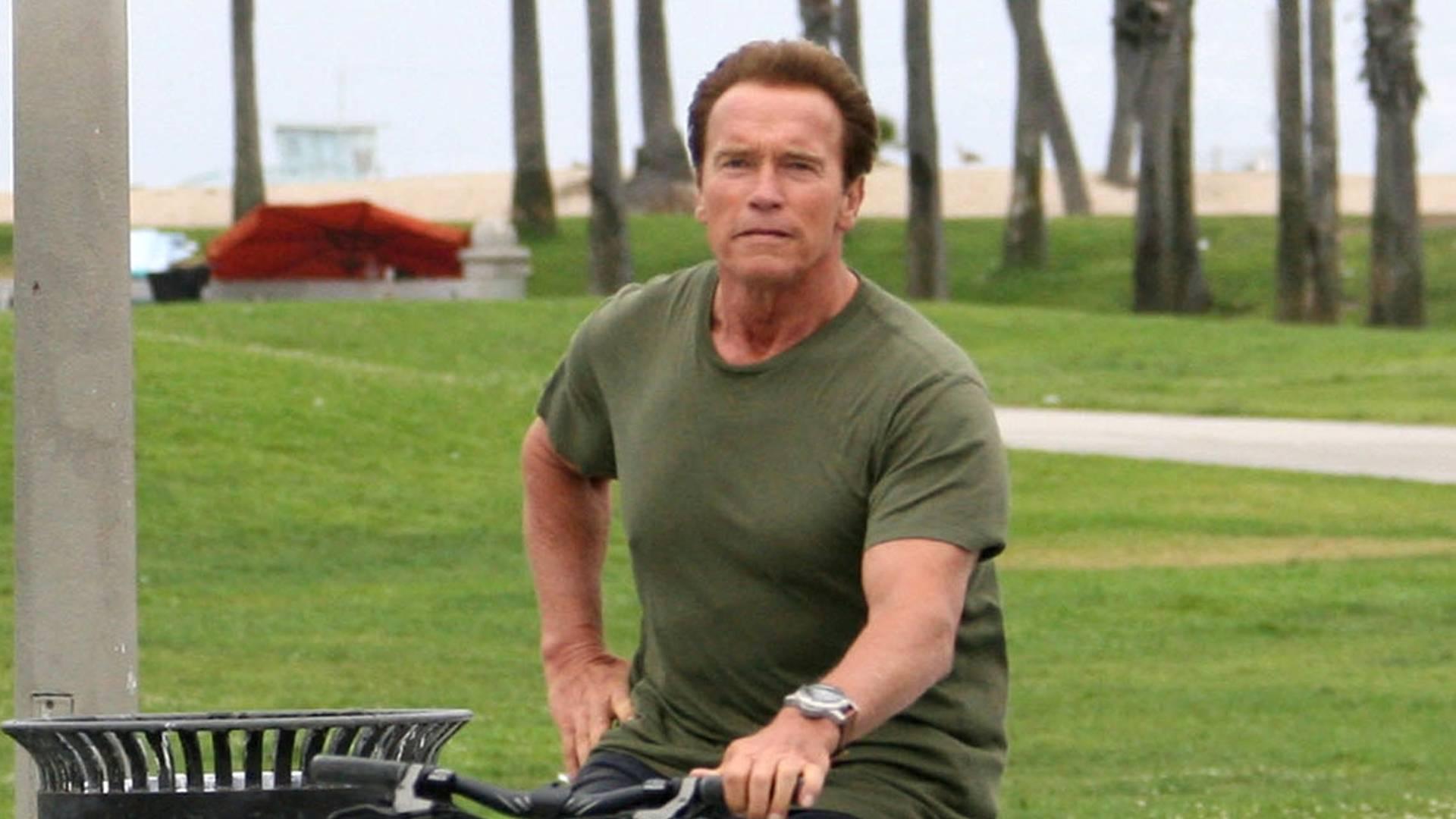 Arnold Schwarzenegger completa 64 anos neste sábado (30/7/11)