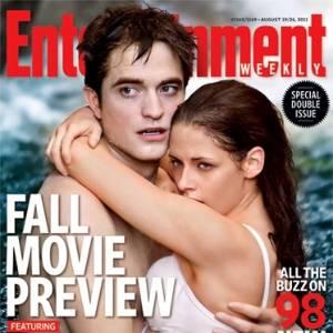 Edward (Robert Pattinson) e Bellla (Kristen Stewart) personagens de