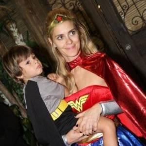 Carolina Dieckmann e Tiago Worcman tem José, 4 anos