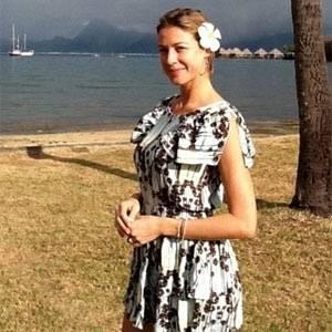 Luana Piovani posa para foto no Taiti (13/8/2011)