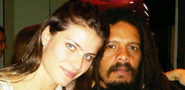 Isabeli Fontana e Rohan Marley em So Paulo (17/8/11)