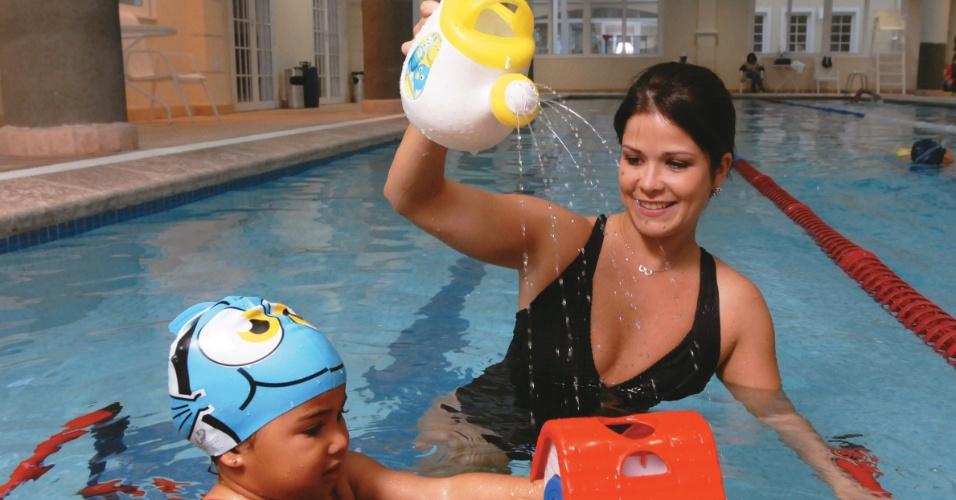 Samara Felippo afirma que amadureceu, após o nascimento da filha Alícia (setembro/2011)