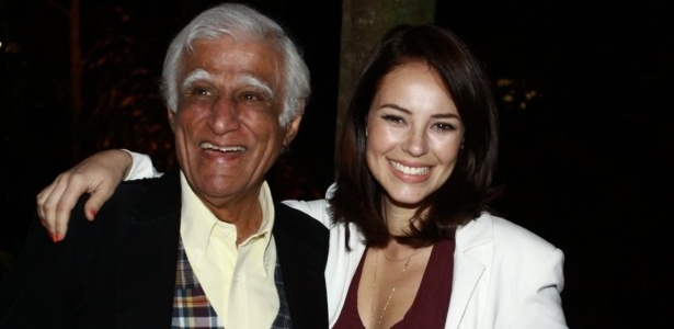 Ziraldo e a atriz Paola Oliveira vão a sessão especial do longa