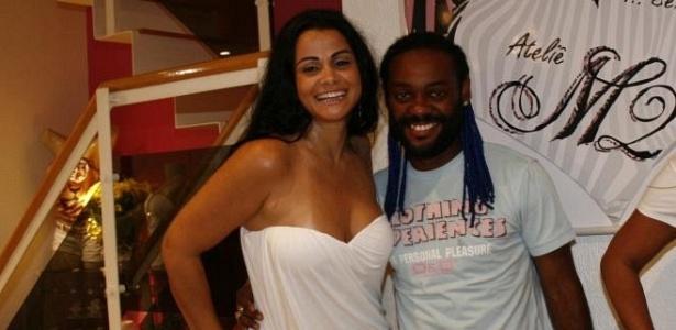 Love frisa que Enzo, filho com sua ex-esposa Marta (foto), não estava na festa