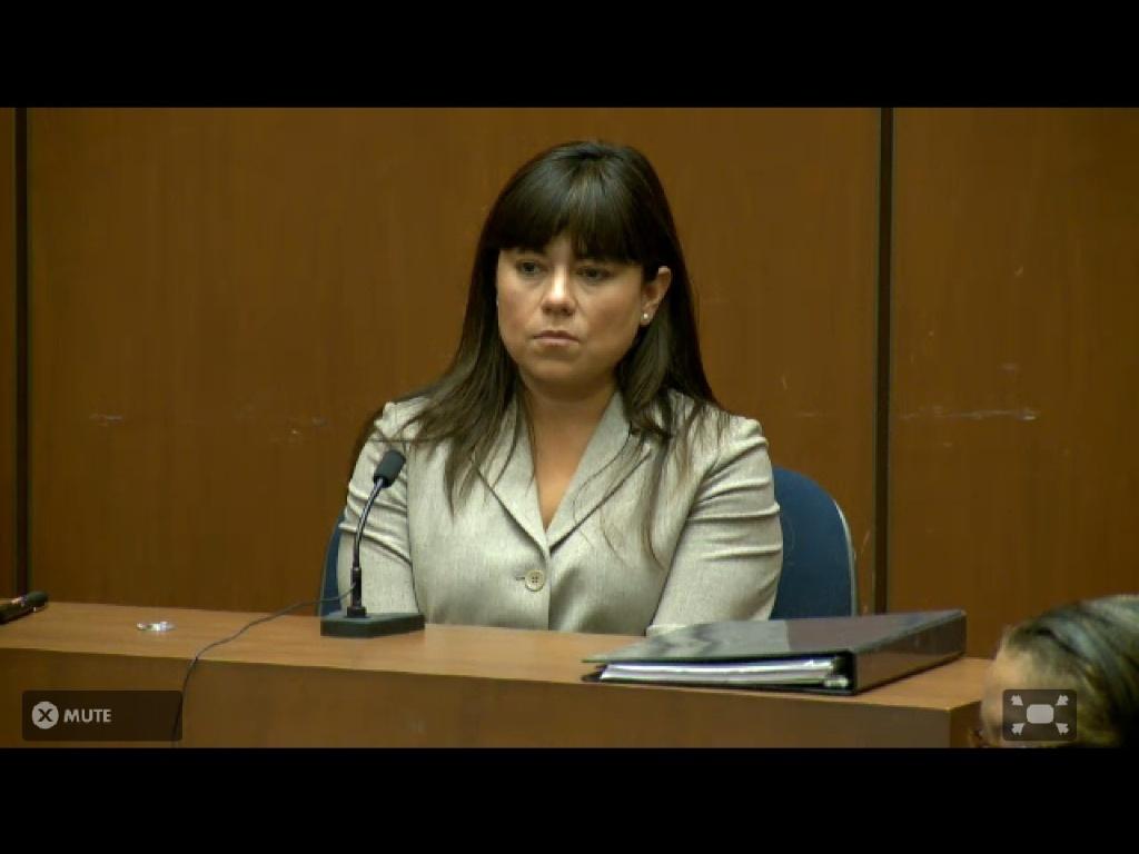 Legista Elissa Fleak é chamada novamente para depôr no caso Michael Jackson (07/10/2011)