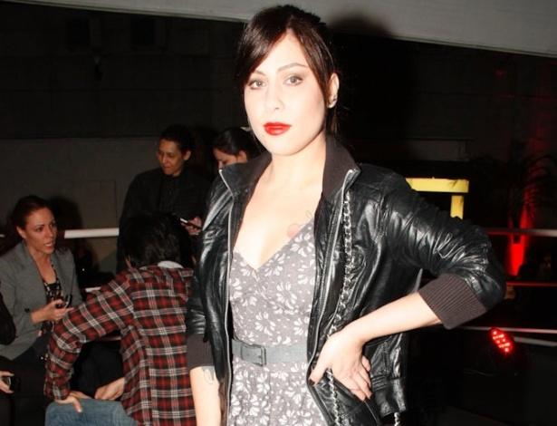 A cantora baiana Pitty duranta o VMB 2011 (20/10/2011)