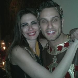 Ex-BBB Eliéser anima festa de aniversário de Luciana Gimenez (1/11/11)