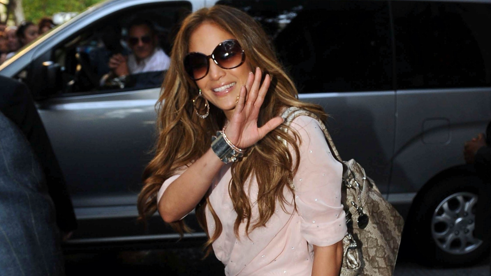 Jennifer Lopez está na Argentina como parte de uma viagem de