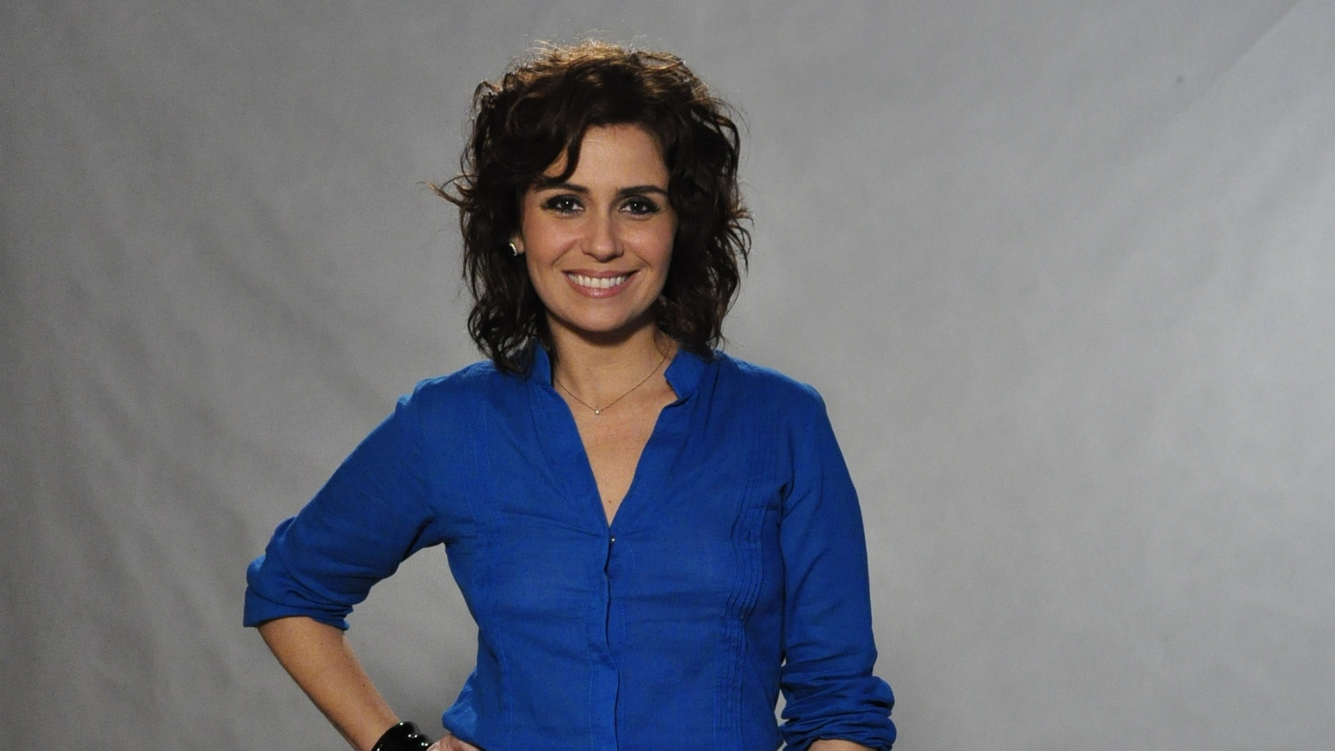 Giovanna Antonelli na coletiva de imprensa da novela