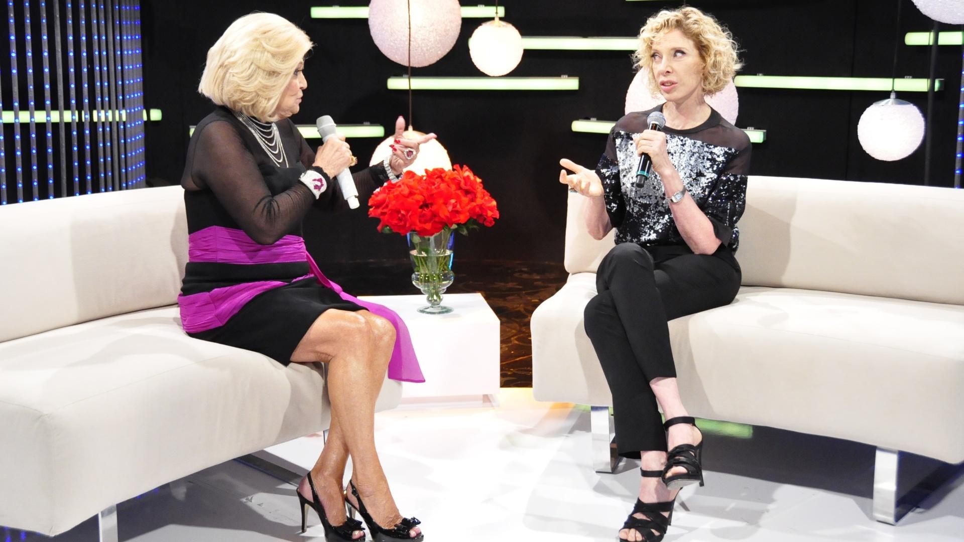 Hebe entrevista Marília Gabriela (11/11/11)