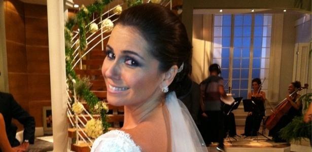 Giovanna Antonelli posta foto durante gravação de