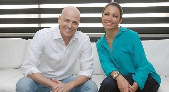 Reynaldo Gianecchini e Patrícia Poeta, no