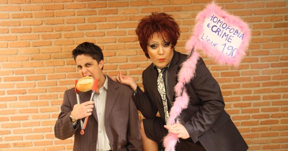 Após ser expulsa de uma padaria, Thammy Gretchen promove campanha contra homofobia (23/11/11)