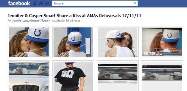 Jennifer Lopez é clicada com o novo namorado, Casper Smart (30/11)