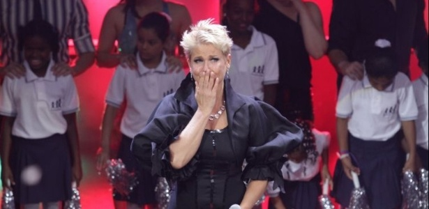 Xuxa recebe o Prmio Extra