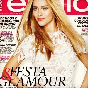Carolina Dieckmann é capa da revista